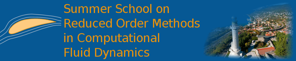 Summer School on Reduced Order Methods in Computational Fluid Dynamics